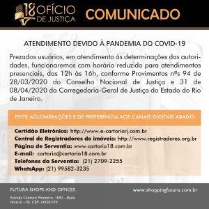 18º Ofício de Niterói - Atendimento