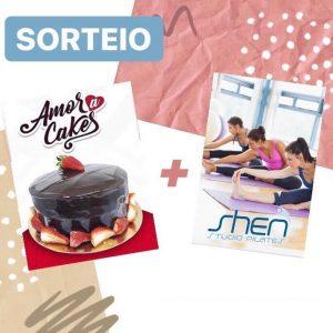 Sorteio - Amor Cake e Shen Pilates
