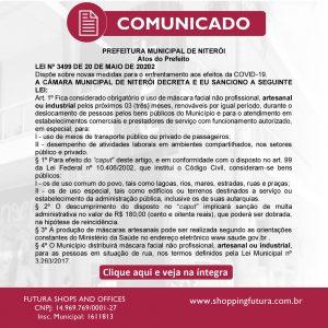 Lei Nº 3499 - Prefeitura de Niterói Combate ao COVID-19